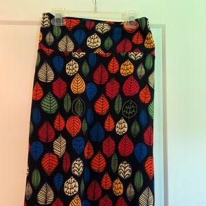 Beautiful Fall Leaves Skirt